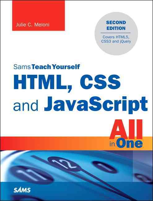 Html, Css, and Javascript All in One By Meloni, Julie C.